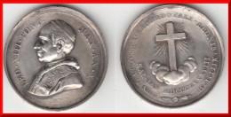 ** ITALIE - ITALIA - VATICAN - VATICANO - 1888 - MEDAILLE PAPE LEON XIII - POPE LEO XIII - AN X ** ACHAT IMMEDIAT !!! - Italia