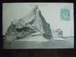 Fécamp , Iceberg  Sur Le Banc De Terre-neuve ? Expédier De ST Malo  ( Cachet De La Poste ) , Pêche à La Morue - Fécamp