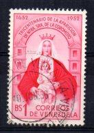 Venezuela - 1952 - Tricentenary Of Apparition Of Our Lady Of Coromoto - Used - Venezuela