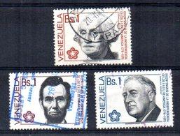 Venezuela - 1976 - American Presidents (Part Set) - Used - Venezuela