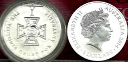 AUSTRALIA $5 VICTORIA CROSS WWI FRONT QEII HEAD BACK 2014 1Oz .999 AG SILVER UNC READ DESCRIPTION CAREFULLY!!! - Sin Clasificación