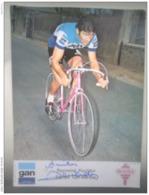 Raymond Poulidor Gan Mercier Autographe Manuscrit - Cycling