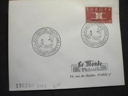 VIII-e Exposition Philatélique 2-3/11/1963 La Garenne Colombes - Marcophilie (Lettres)