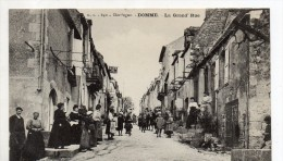 Domme La Grand Rue - Frankreich
