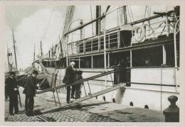 CP - BELGIQUE - Carte  51  Du SOIR - Léopold II, Roi Des Belges, Montant à Bord De Son Yacht L'Alberta à Ostende. - Events