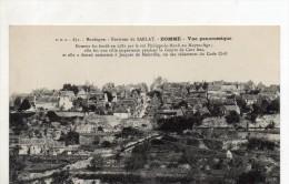 Domme Vue Panoramique - Frankreich