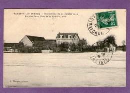 SALBRIS - Innondations Du 21 Janvier 1910....- - Salbris