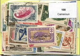 Lot 100 Timbres Cameroun - Timbres