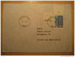 Mariehamn 1990 To Bad Marienberg Allemagne Germany Aland Finlande Finland - Aland