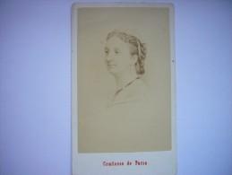Photo CDV De Marie-Isabelle D'Orléans Comtesse De Paris Par Neurdein - Maison De France - Infante D'Espagne - Photographs