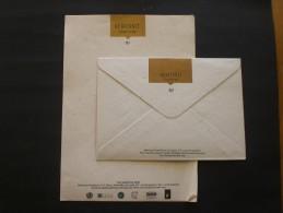 COVER HOTEL HERITANCE  KANDALAMA ( SR LANKA) - Visiting Cards