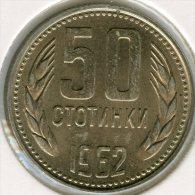 Bulgarie Bulgaria 50 Stotinki 1962 KM 64 - Bulgarije