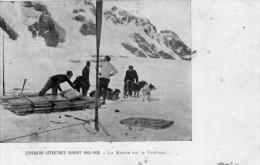 EXPEDITION ANTARCTIQUE CHARCOT - 1903 - 1905 - La Maison Sur Le Traineau - Bon état - 2 Scans - TAAF : Terres Australes Antarctiques Françaises