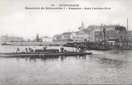 "DUNKERQUE  ( 59 )  -  SOUS - MARIN  ""  L'ESPADON   "" - Submarines"