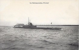 """DUNKERQUE  ( 59 )  -  SOUS - MARIN  """"  FLOREAL   """" - Submarines"""