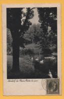 AK Luxemburg -  Ansichtskarte Von Bad Mondorf Von 1934 - Ansicht Vom Park - Stempel: Noerdange - Martelange - Mondorf-les-Bains
