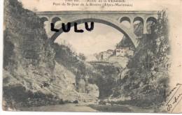 DEPT 06 : Précurseur 2 Scans : Pont Saint Jean De La Rivière , Route De Vesubie - Non Classés