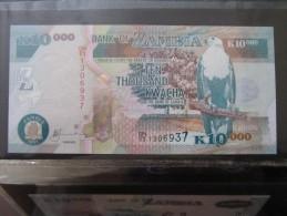 Zambia  10.000  Kwacha   2011   UNC - Zambia