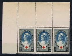 France Yv: 422 , Mi 440   La Croix-Rouge 1939 MNH/**/postfrisch/neuf - Unused Stamps