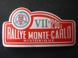 RALLY MONTE CARLO 2004 STORICO VII ADESIVO - Apparel, Souvenirs & Other