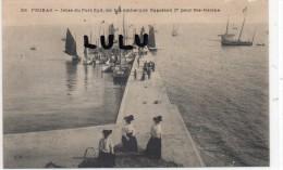 DEPT 17 : Fouras , Jetée Du Port Sud Ou Fut Embarqué Napoléon 1er Pour Sainte Hélène - Fouras-les-Bains