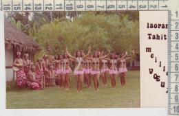Tahiti Foto Cartolina Saluti Voeux - Tahiti