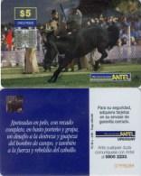 Telefonkarte Uruguay - Rodeo - Reiter - Pferd - TC 48 A - 4/99 - Uruguay