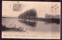 CP L'étang De Saint Quentin - Vue Des Canardières - St. Quentin En Yvelines
