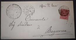 ANNULLI NUMERALI LAZIO: NUMERALE  SORIANO NEL CIMINO - 1878-00 Umberto I