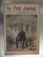 Le Petit Journal  Militaire Ullmo Condamne A La Detention Perpetuelle Un Quartier De Paris Inonde Rue Des Tuillerie - Journaux - Quotidiens