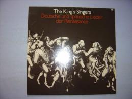 Vinyle---KING'S SINGERS : Deutsche Und Spanische Lieder Der Renaissance - Vinyl Records