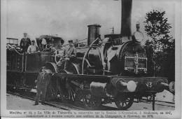 """Locomotives De France, Machine N°13, """"La Ville De Thionville"""" - Treni"""