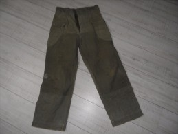 Pantalon Us HBT.ww2,indochine. - Uniforms