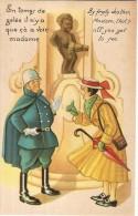MANNEKEN-PIS- EN TEMPS DE GELEE IL N'Y A QUE CA A VOIR-humour-folklore Belge - Humor