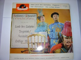 Vinyle--4 Operetten : Das Land Des Lächelns Etc - Other - German Music