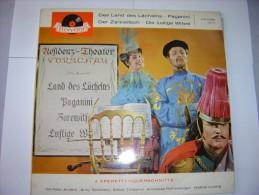 Vinyle--4 Operetten : Das Land Des Lächelns Etc - Vinyl Records