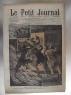 Le Petit Journal Attaque Du Train Toulouse Entre Etampes Et Etrechy Courrier De Lyon Entre  Lieusaint Et  Melun - Journaux - Quotidiens