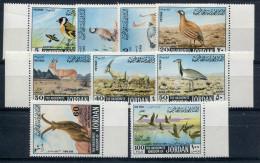1968- JORDAN-FAUNA/ BIRDS - 9 VAL.- M.N.H. -LUXE !! - Jordanien