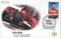5357 Austria ,  Special Cover And Postmark 2006, Auto Racing World Champ. F1  Ferrari, Michael Schumacher - Automobilismo