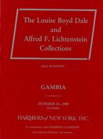 Dale/Lichtenstein Collections - Sale 17 : Gambia (1990) - Littérature