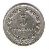 El Salvador 5 Centavos 1966 - El Salvador