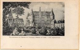 PICQUIGNY:vue Ancienne Du Chateau De PICQUIGNY ,XIéme Siécle ,coté Septentrional - Picquigny