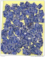LOT DE 300 Timbres -N° 365-65c Bleu Type PAIX--oblitérés   Pour étude, Sur:types, Couleurs, Cachets Etc - 1932-39 Frieden