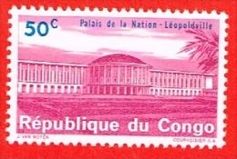 MNH** Palais De La Nation N°S 551 à 558 - 560 à 563 - 565 - 566 + N°S 737 Avec Surcharge 10K 15 Scans - République Du Congo (1960-64)