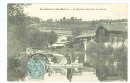 52 - DOULAINCOURT - Le Rognon Derrière Le Moulin (barque...) - Doulaincourt