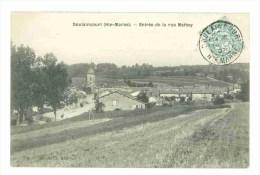52 - DOULAINCOURT - Entrée De La REue Mathey - Doulaincourt