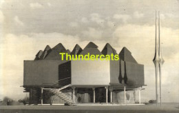 CPSM EXPOSITION UNIVERSELLE DE BRUXELLES 1958  PAVILLON DE LA LIBRAIRIE HACHETTE PHOTO JEAN BIAUGEAUD - Expositions
