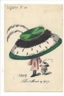 13886 - La Mode En 1909  Par Roberty  Femme à Chapeau Le Sourire N° 109 - Illustrateurs & Photographes