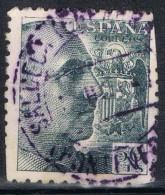 Sello 50 Cts Caudillo, Fechador SALCEDA De CASELAS (Pontevedra) , Num  927 º - 1931-Today: 2nd Rep - ... Juan Carlos I