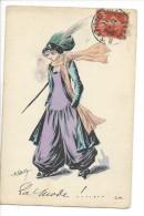 13885 - La Mode  Par Roberty  Femme à Chapeau CM Paris Série 32 - Other Illustrators